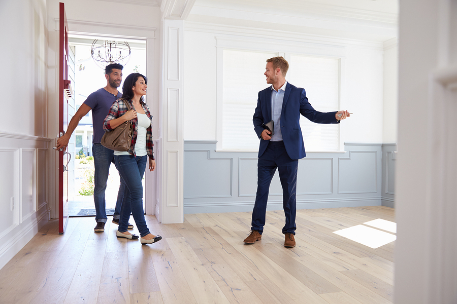 Realtor Showing a Home